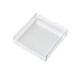 Acetate Chocolate or Cookie Box - Mini 90mm x 95mm x 23mm