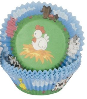 Farm Cupcake Cases  - 50 Pack